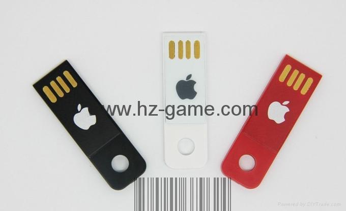 手机电脑双用U盘8G/16g/32G/64G otg苹果U盘32g 定制LOGO优盘 双插头定制u盘 18
