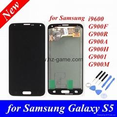 批发原装三星SAMSUNG S5 S4 S3 S3 I9500/9502/959/9508V手机液晶屏幕总成触摸显示屏