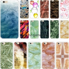 Cell phone covers, for iPhone marble pattern pc hard cover case white
