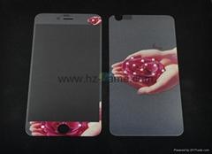 新款 iPhone7plus超薄全屏鋼化玻璃膜 蘋果8鋼化膜