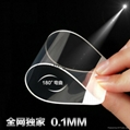 New 0.1mm full screen Tempered Glass Film Screen Protector 9H 3d galssProtective 3