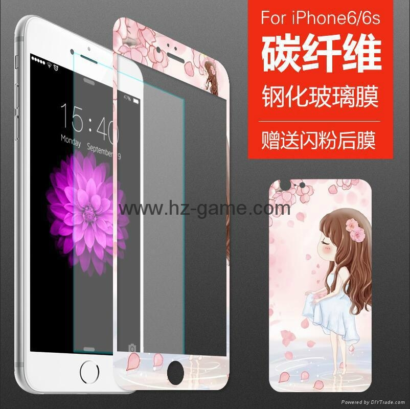 new iPhone7plus ultra-thin full-screen tempered glass film Apple 8 tempered film 15
