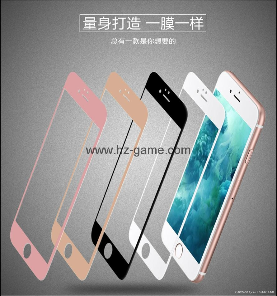 New 0.1mm full screen Tempered Glass Film Screen Protector 9H 3d galssProtective 16
