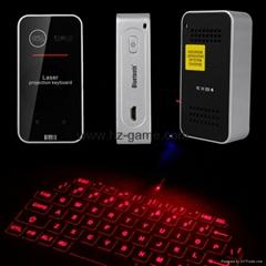 新款鼠标功能 激光虚拟键盘 投影键盘苹果小米ipad平板电脑通用
