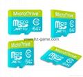 ps2双色记忆卡/xbox360/wii /NGC游戏内存卡 储存卡 C10高速  手机TF卡批发 9