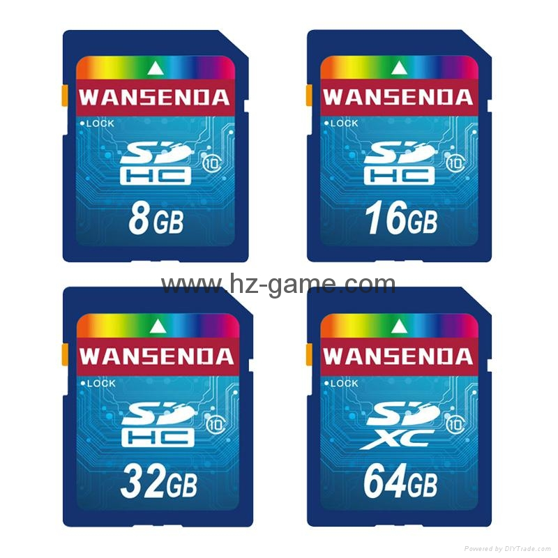 ps2双色记忆卡/xbox360/wii /NGC游戏内存卡 储存卡 C10高速  手机TF卡批发 10