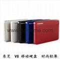全新 USB3.0 藍碩移動硬盤 500G 2.5寸 硬盤60G 1TB 廠家直銷 3