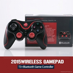 New T3+ Wireless Joystick Gamepad for Android Tablet PC TV Box Smartphone