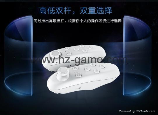 手機無線藍牙遊戲手柄 藍牙自拍器 鼠標 遙控安卓蘋果IOS迷你手柄 3