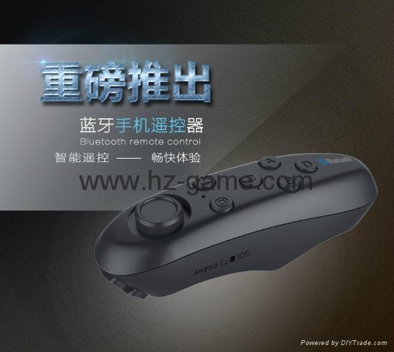 手機無線藍牙遊戲手柄 藍牙自拍器 鼠標 遙控安卓蘋果IOS迷你手柄 6