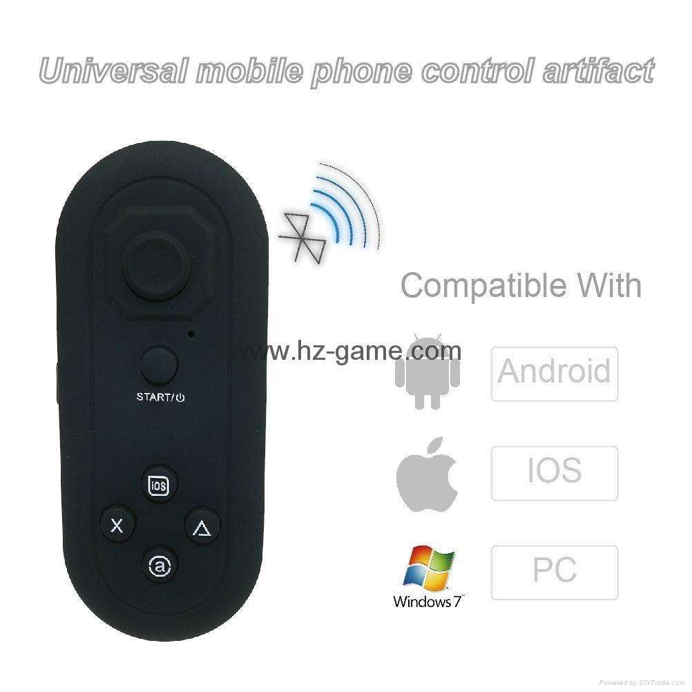 手机无线蓝牙游戏手柄 蓝牙自拍器 鼠标 遥控安卓苹果IOS迷你手柄 15