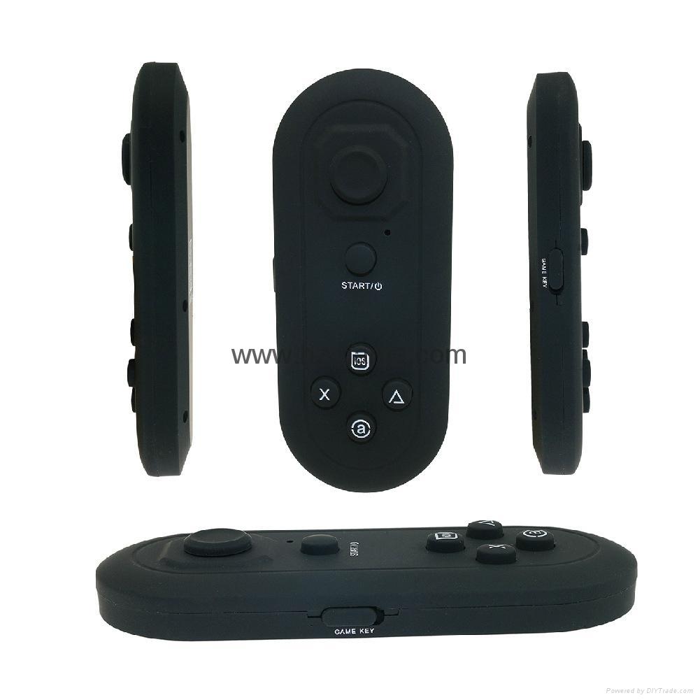 手機無線藍牙遊戲手柄 藍牙自拍器 鼠標 遙控安卓蘋果IOS迷你手柄 16