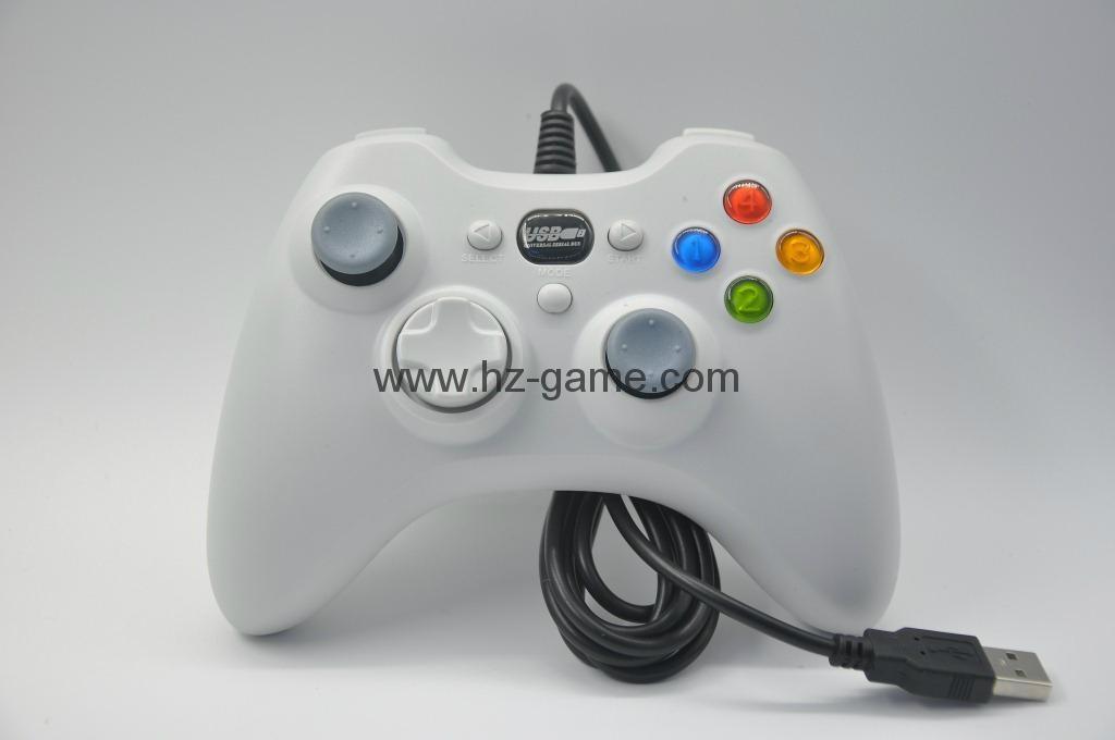 XBOX360有線遊戲手柄 360發光透明外殼LED燈遊戲手柄,電腦手柄 13