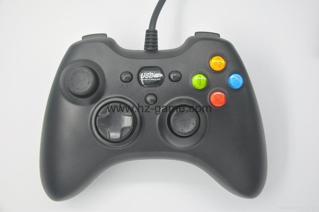 XBOX360有線遊戲手柄 360發光透明外殼LED燈遊戲手柄,電腦手柄 14