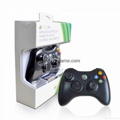 XBOX360有線遊戲手柄 360發光透明外殼LED燈遊戲手柄,電腦手柄