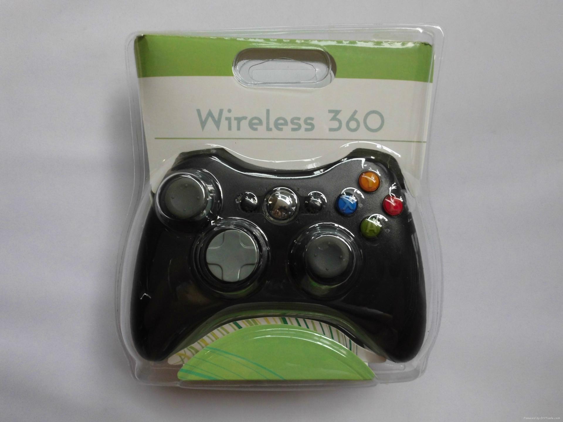 XBOX360有线游戏手柄 360发光透明外壳LED灯游戏手柄,电脑手柄 6