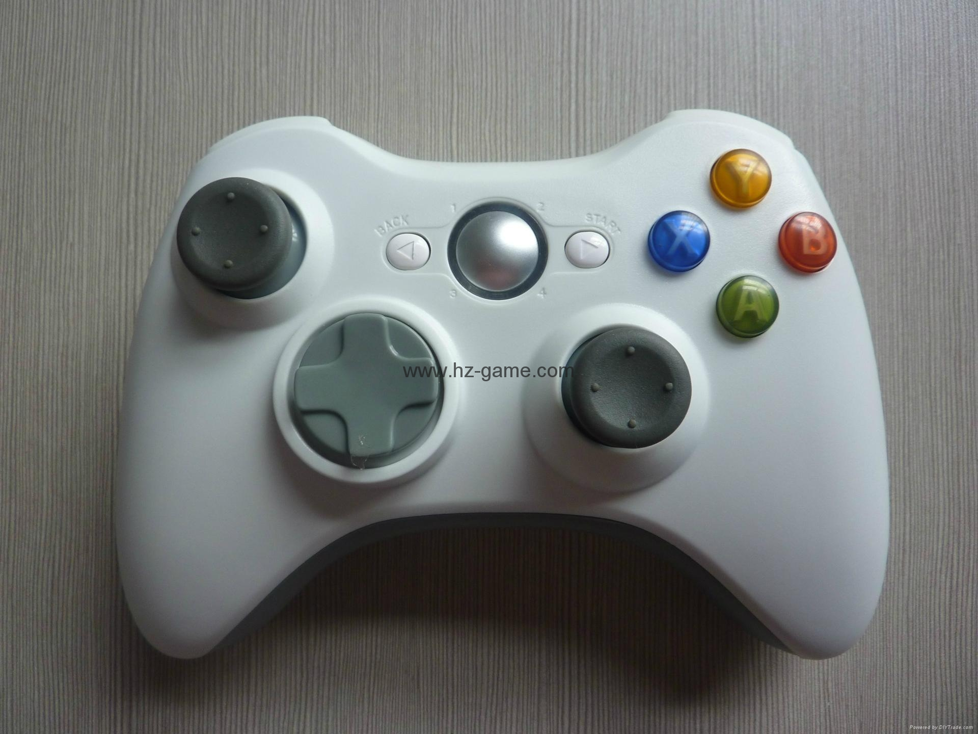 XBOX360有線遊戲手柄 360發光透明外殼LED燈遊戲手柄,電腦手柄 16