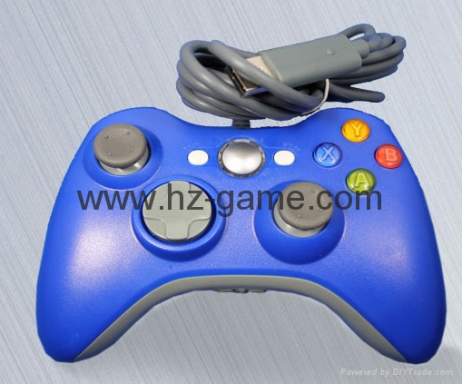 XBOX360 Wireless Controller, XBOX360 WIRED led light Joystick,XBOX WIRED GAMEPAD 17