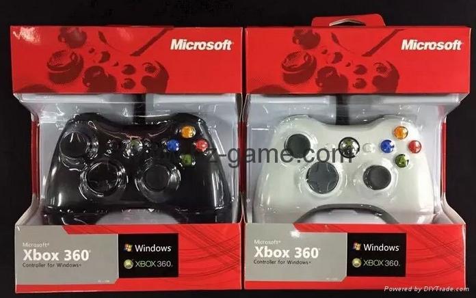 XBOX360有线游戏手柄 360发光透明外壳LED灯游戏手柄,电脑手柄 4