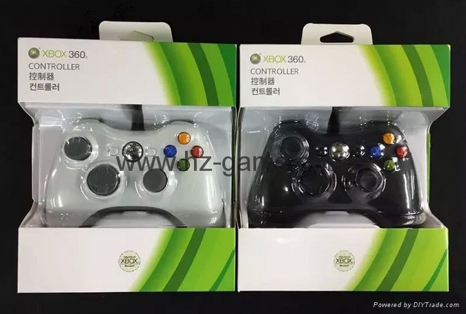 XBOX360 Wireless Controller, XBOX360 WIRED led light Joystick,XBOX WIRED GAMEPAD 5