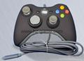 XBOX360有線遊戲手柄 360發光透明外殼LED燈遊戲手柄,電腦手柄 20
