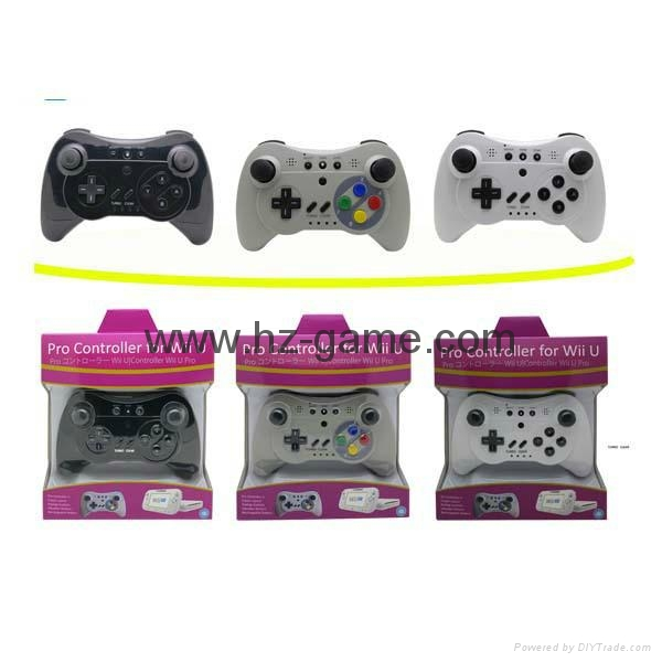 Wii U Pro 2in1 Wireless Controller Joypad,Wii u Remote and Nunchuk Controller  1