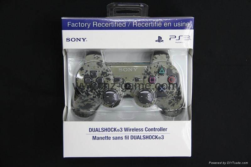 迷彩色PS3藍牙手柄 PS3無線六軸藍牙雙震手柄 無線手柄 遊戲手柄 4