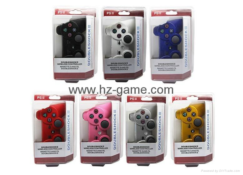 迷彩色PS3藍牙手柄 PS3無線六軸藍牙雙震手柄 無線手柄 遊戲手柄 10