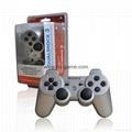 迷彩色PS3藍牙手柄 PS3無線六軸藍牙雙震手柄 無線手柄 遊戲手柄 3