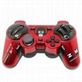 迷彩色PS3蓝牙手柄 PS3无线六轴蓝牙双震手柄 无线手柄 游戏手柄 19