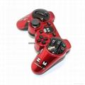 迷彩色PS3蓝牙手柄 PS3无线六轴蓝牙双震手柄 无线手柄 游戏手柄 20