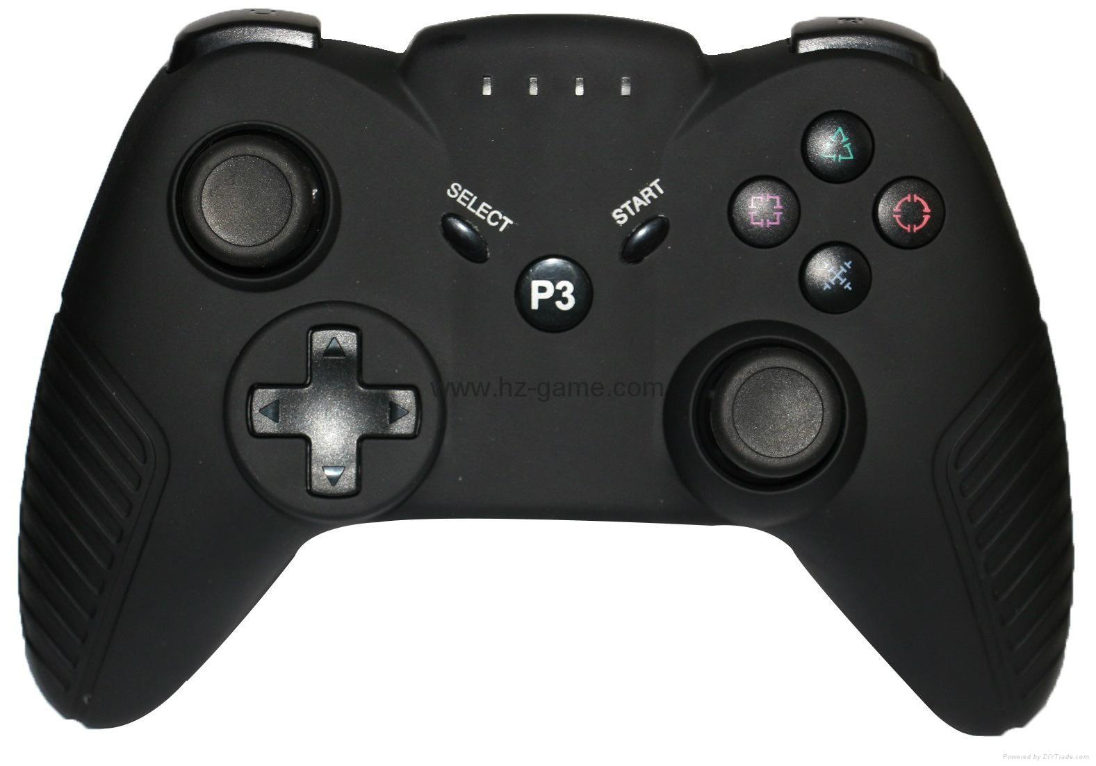 迷彩色PS3藍牙手柄 PS3無線六軸藍牙雙震手柄 無線手柄 遊戲手柄 9