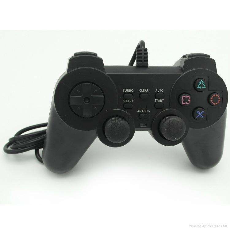 PS2有线震动手柄pc usb电脑 双马达震动 PS2单震动游戏手柄 6