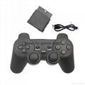 PS2有線震動手柄pc usb電腦 雙馬達震動 PS2單震動遊戲手柄 10