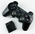 PS2有线震动手柄pc usb电脑 双马达震动 PS2单震动游戏手柄 1