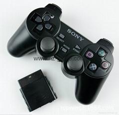 PS2有線震動手柄pc usb電腦 雙馬達震動 PS2單震動遊戲手柄