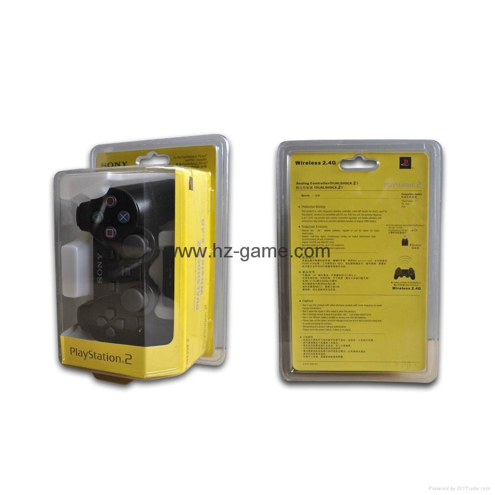 PS2有线震动手柄pc usb电脑 双马达震动 PS2单震动游戏手柄 3