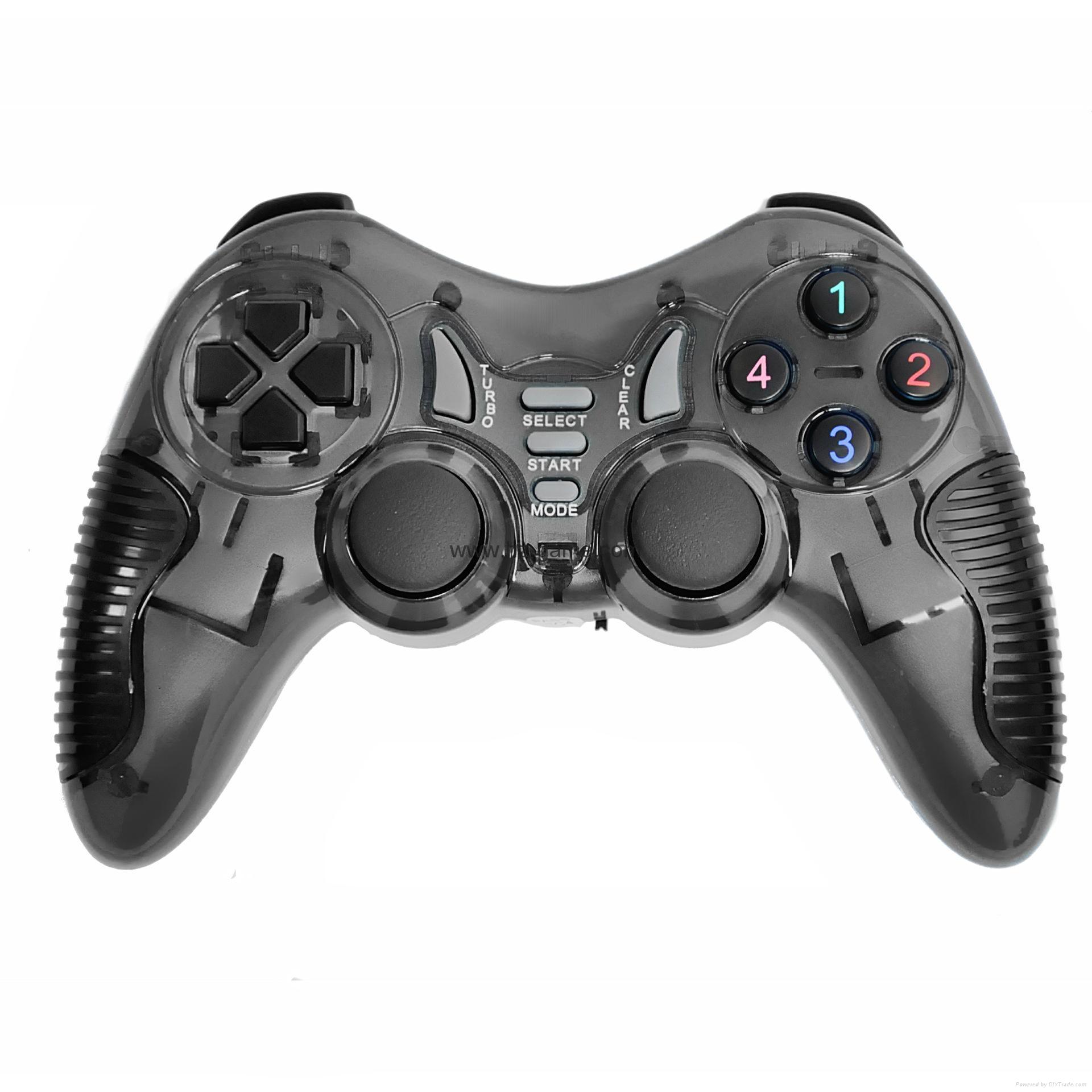 PS2有线震动手柄pc usb电脑 双马达震动 PS2单震动游戏手柄 11
