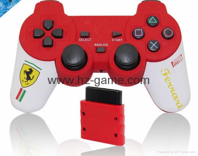 PS2有線震動手柄pc usb電腦 雙馬達震動 PS2單震動遊戲手柄 16