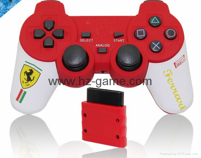 PS2有线震动手柄pc usb电脑 双马达震动 PS2单震动游戏手柄 16