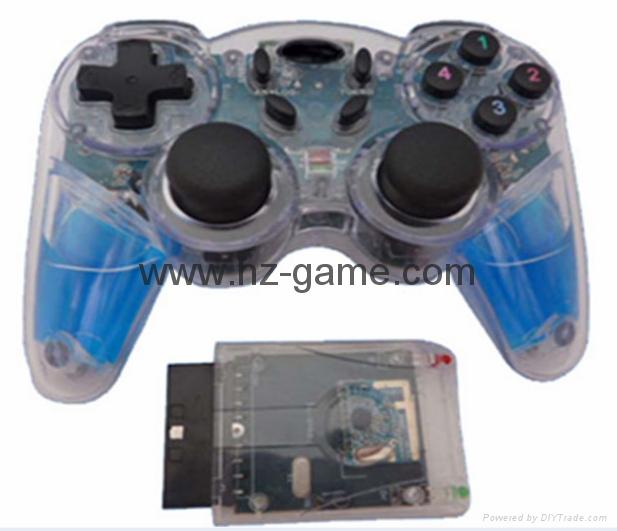 PS2有线震动手柄pc usb电脑 双马达震动 PS2单震动游戏手柄 17