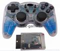PS2有線震動手柄pc usb電腦 雙馬達震動 PS2單震動遊戲手柄 17