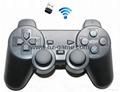 PS2有線震動手柄pc usb電腦 雙馬達震動 PS2單震動遊戲手柄 18
