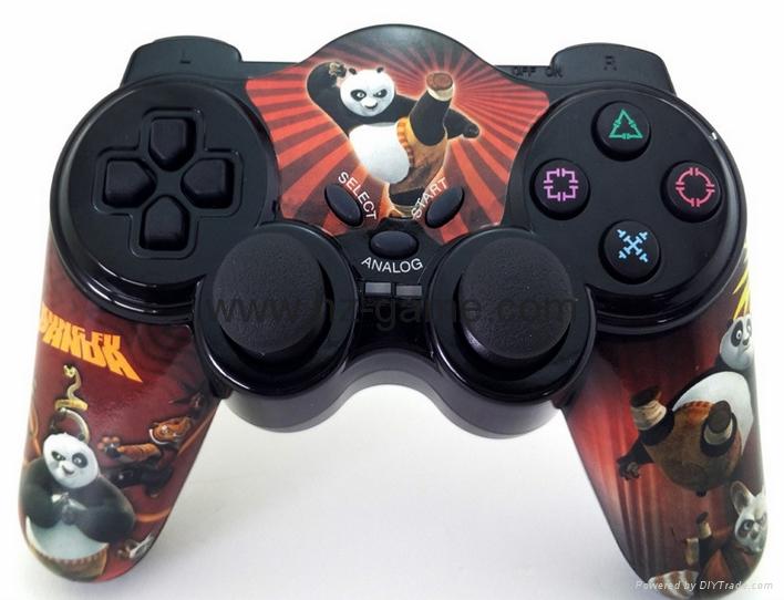 PS2有線震動手柄pc usb電腦 雙馬達震動 PS2單震動遊戲手柄 20