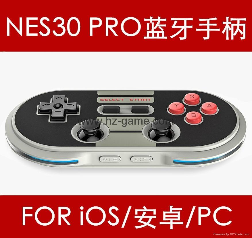 八位堂 零8Bitdo ZERO8BITDO ZERO,NES30,NES小手柄 藍牙無線遊戲手柄 零ZERO便攜小手柄 2