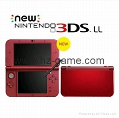new3ds掌机 new3dsll游戏机 无卡破解 免卡破解 安装好cia游戏