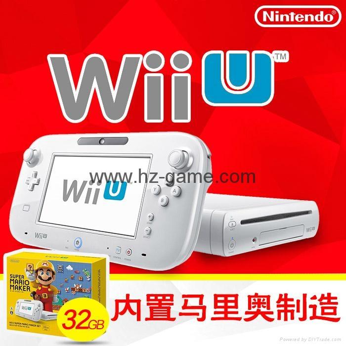 WiiU游戏机 wii游戏机主机 日版美版32G will u感应互动游戏机 7