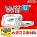 WiiU遊戲機 wii遊戲機主機 日版美版32G will u感應互動遊戲機 7
