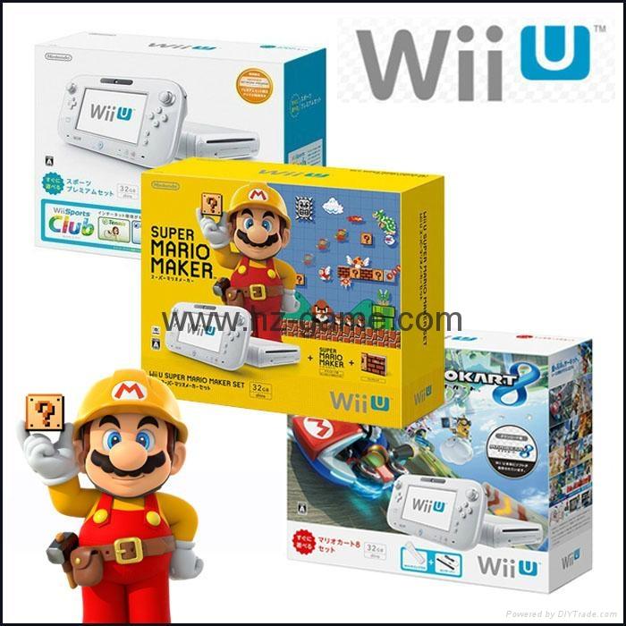 WiiU游戏机 wii游戏机主机 日版美版32G will u感应互动游戏机 1