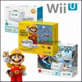 Ninteno Wii U game console, Wii game console, Wii fit plus,wii game player 1